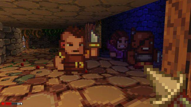 First-person roguelike Delver emerges from four years of Early Access this week