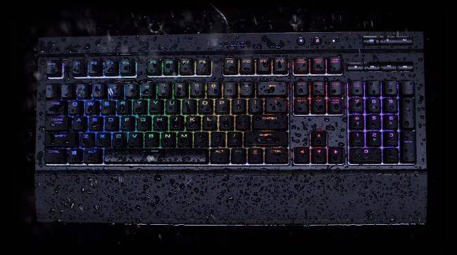 Corsair adds RGB lighting to its spill-resistant K68 mechanical keyboard