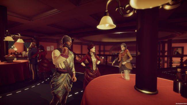 Murderous Pursuits is a Victorian-era multiplayer assassination game in the style of The Ship