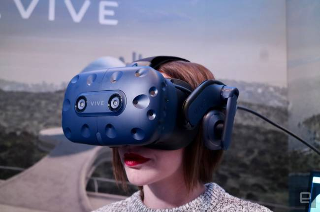 Take a good look at the HTC Vive Pro and VR wireless adapter
