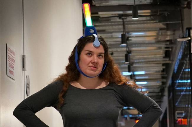 Hasbro's viral video-inspired headgear scores your mood for lulz