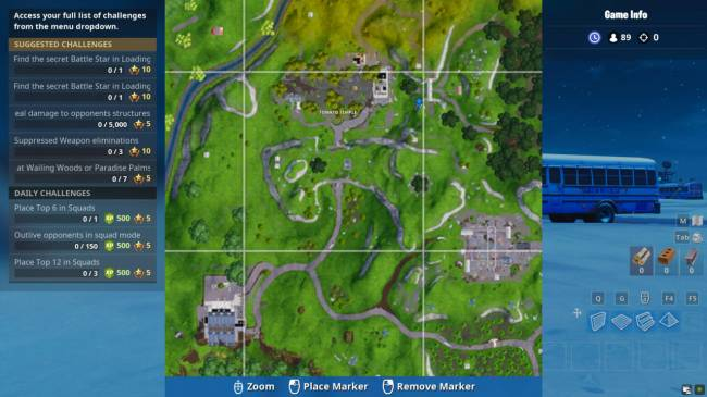 Fortnite Challenge: Where To Search Between Giant Rock Man, Crowned Tomato, And Encircled Tree Location (Season 7, Week
