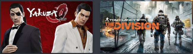 Just $12 For Yakuza 0, The Division, And Mystery PC Games