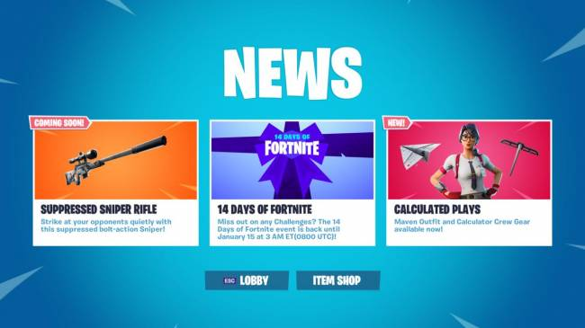 Fortnite Adding New Suppressed Weapon In Next Update