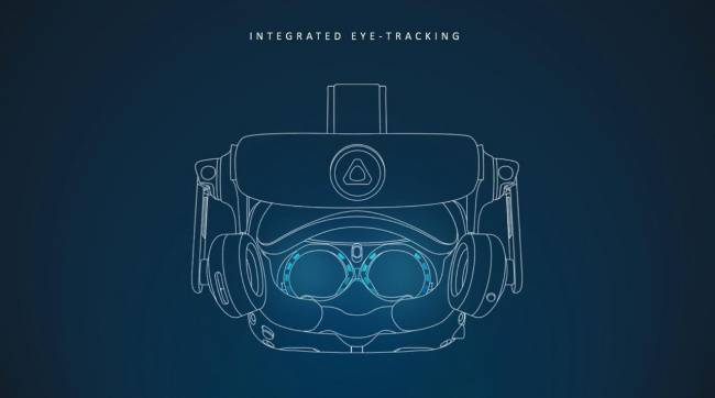 CES: HTC Vive Pro Eye Offers Native Eye Tracking