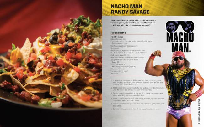WWE Has A Cookbook, And