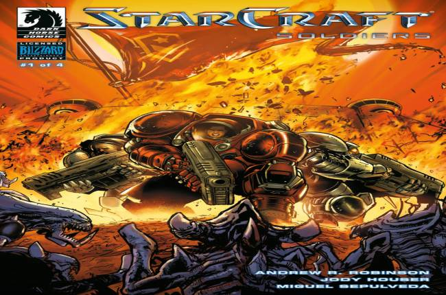 Dark Horse Is Expanding The StarCraft Comics Universe With StarCraft Soldiers And Here's The First Look