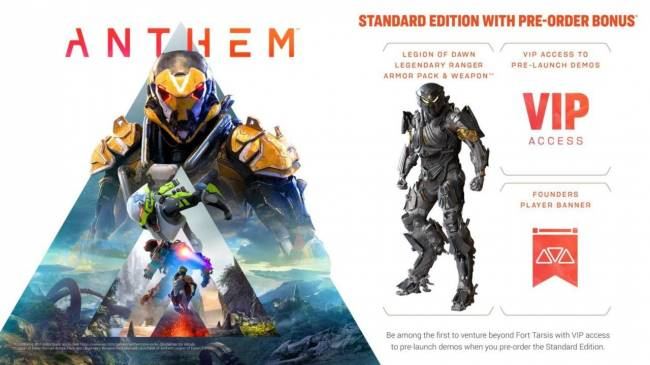 Anthem Game Pre-Order, VIP Demo, And Release Date Guide (US)