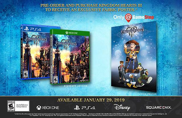 Kingdom Hearts 3 Release Date And US Pre-Order Guide (PS4/Xbox One)