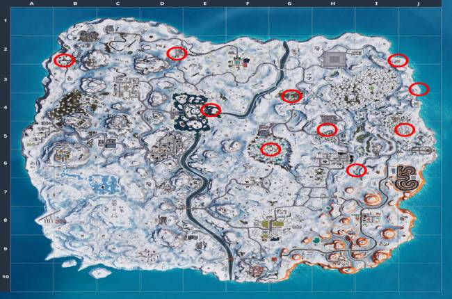 Fortnite Golden Balloon Location Guide (Week 9 Challenges)