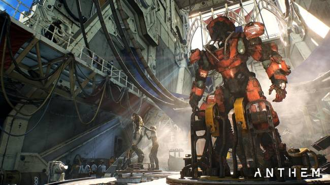 Anthem Fort Tarsis Gameplay and Exploration Shown in New Video