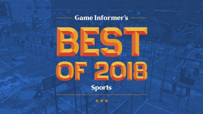 The 2018 Sports Game Awards