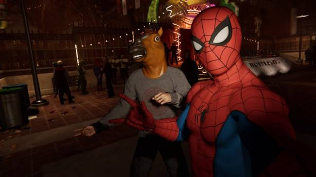Insomniac's Spider-Man Gets His Own Statue