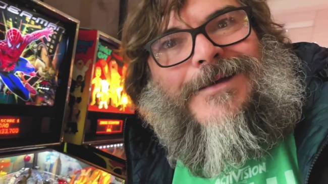 Jack Black Launches YouTube Gaming Channel With Look At Pinball Classics