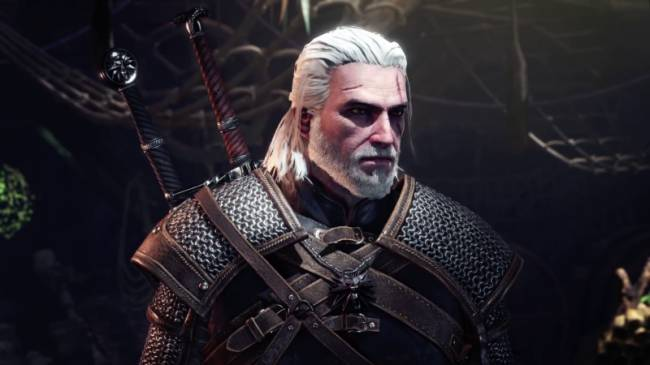 The Witcher Geralt Comes To Monster Hunter: World Next Month