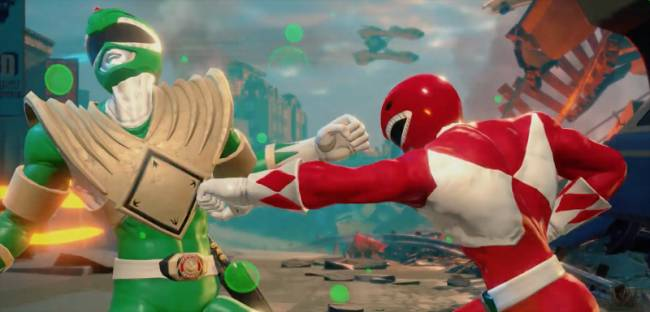 A New Power Rangers Fighting Game Is On The Way