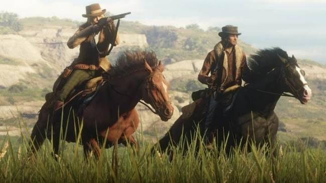 Rockstar Announces Free Gold Rush In Red Dead Online This Weekend