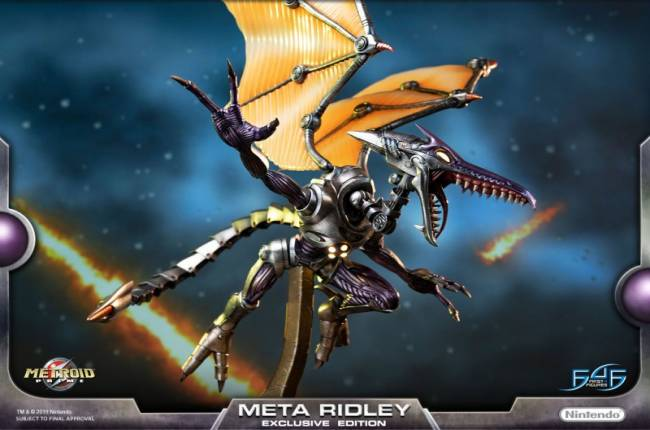 First 4 Figures Reveals Massive Metroid Prime Ridley Statue