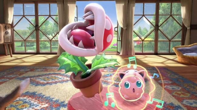 Piranha Plant Is Now Available In Super Smash Bros. Ultimate