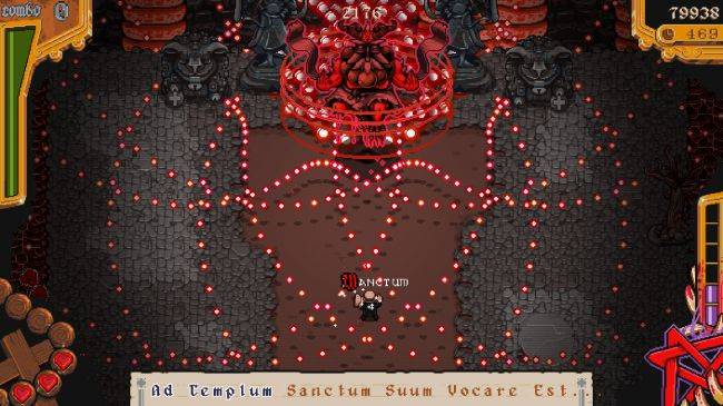The Textorcist is a bullet hell where typing is your only weapon