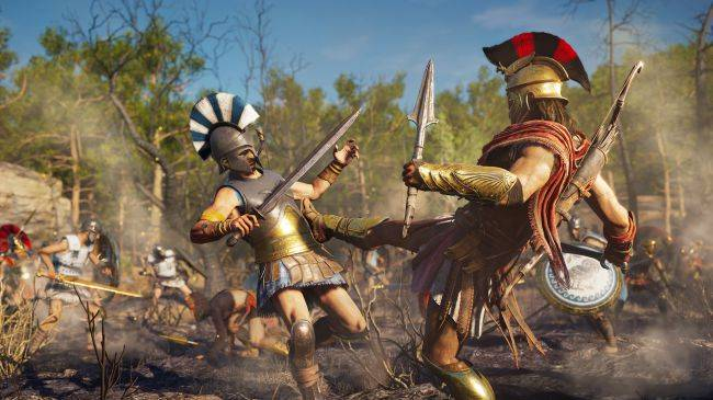 Assassin's Creed Odyssey is getting level scaling options, quests, and monsters soon