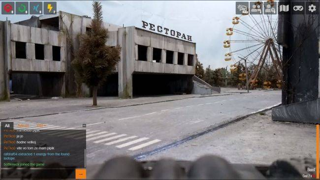 This browser game lets you control real-life robots in a scale model Chernobyl