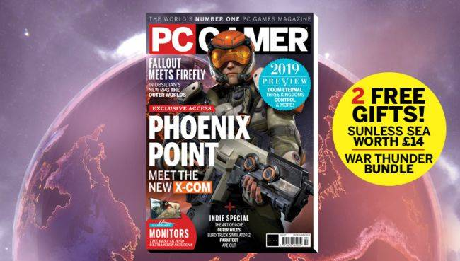PC Gamer UK February issue: Phoenix Point