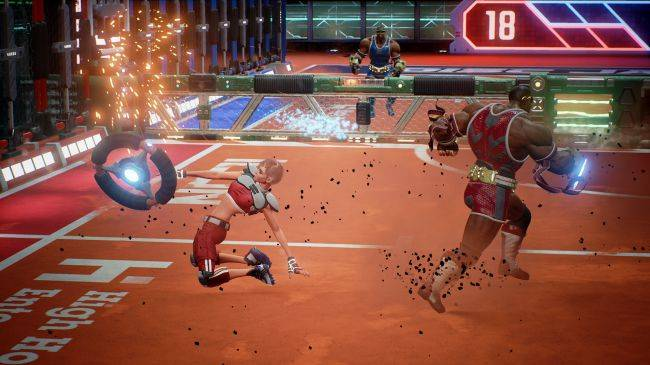 Action sports game Disc Jam is having a free weekend on Steam