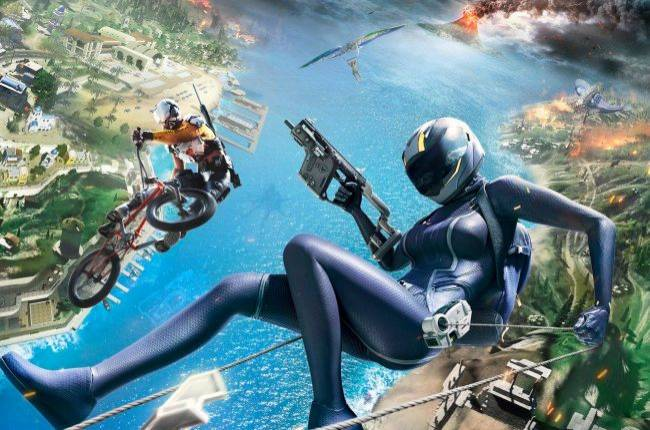 Ring of Elysium's new season begins with a volcanic island map, submarines, and BMX bikes