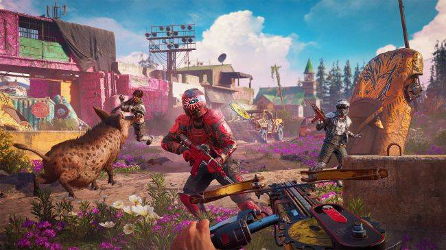 Ubisoft is pushing a 'light RPG approach' in Far Cry: New Dawn