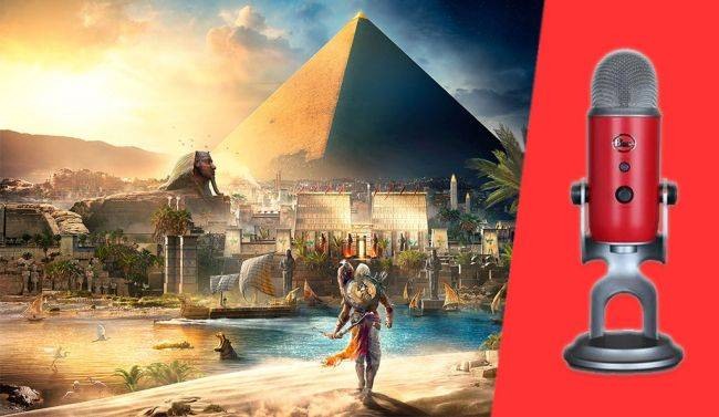 Blue Yeti microphone with Assassin's Creed Origins is on sale for $80