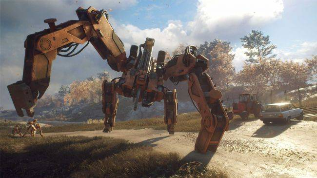 Generation Zero, the retro-Swedish killer robot open-world shooter, is coming in March