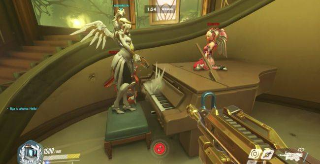 Overwatch's new Paris map has a playable piano, and boy are people playing it