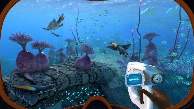 Subnautica: Below Zero and its adorable alien penguins are out in Early Access