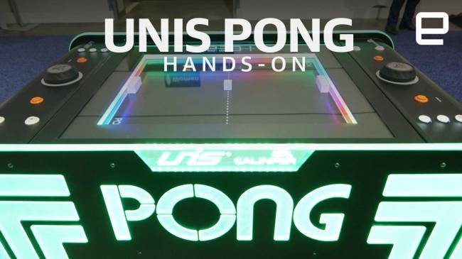 Analog 'Pong' is beautiful, but so expensive