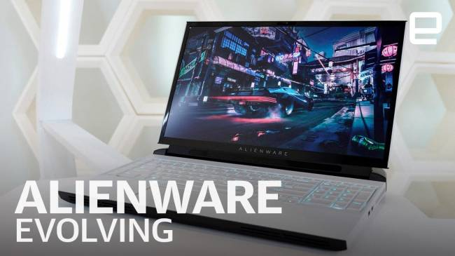Dell on the upgradable Alienware Area 51m laptop, OLED and what's next