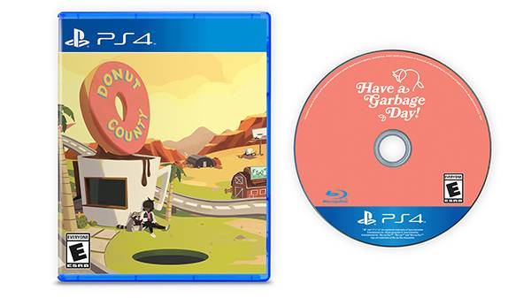 Donut County PS4 limited run physical edition announced