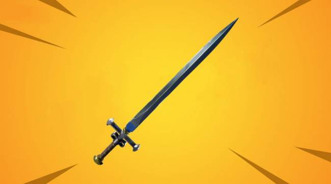 Fortnite Adding New, Different Type of Sword