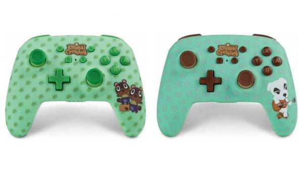 Power A is releasing these Animal Crossing Nintendo Switch controllers
