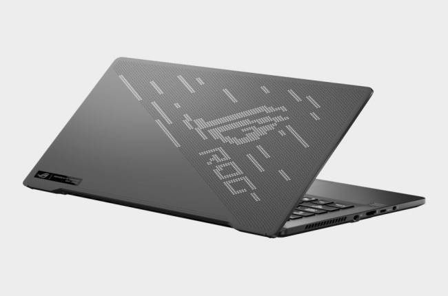 Asus' newest laptop has a programmable dot matrix display on its lid
