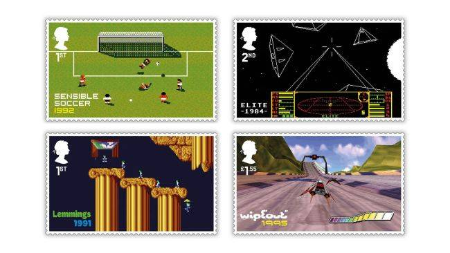 The Royal Mail is honouring classic British games via the medium of stamps