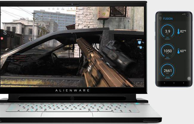 Alienware mulls turning your smartphone into a PC gaming dashboard