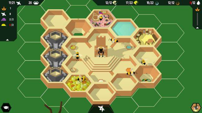 Build a thriving hive in free bee management game Hive Time