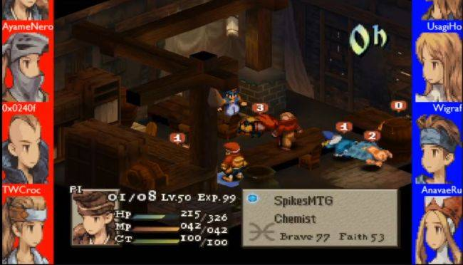 Twitch's latest obsession is betting on a Final Fantasy Tactics autobattler