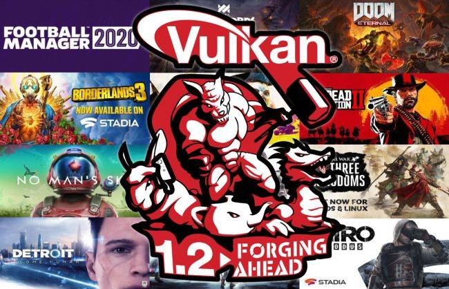 Khronos Group releases Vulkan 1.2 specification to make games run faster