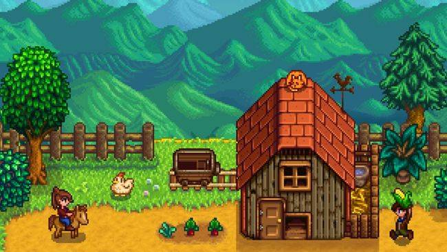 Stardew Valley is cheap in the Humble Sweet Farm Bundle