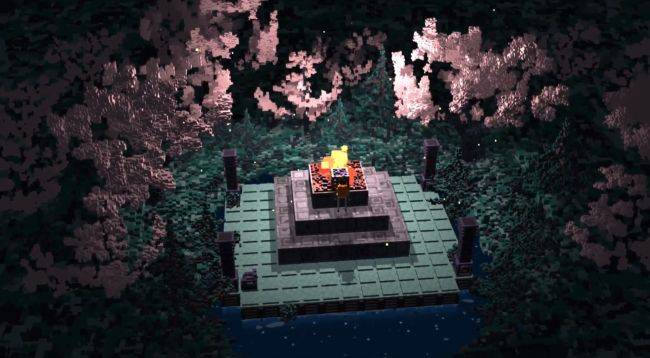 Climb ruins and burn your possessions in Bonfire Peaks