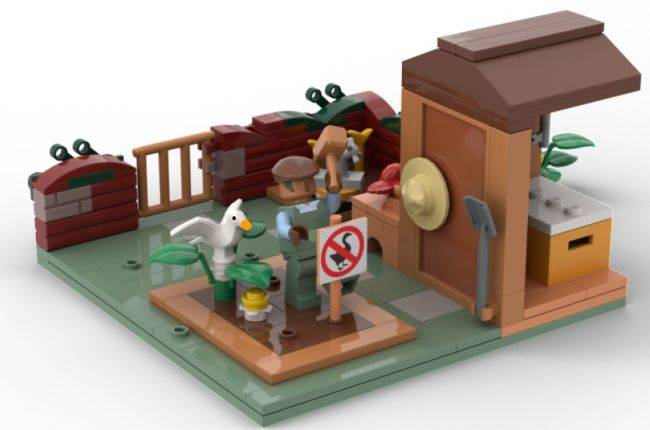 Untitled Goose Game Lego might get made if you give it a honk of approval