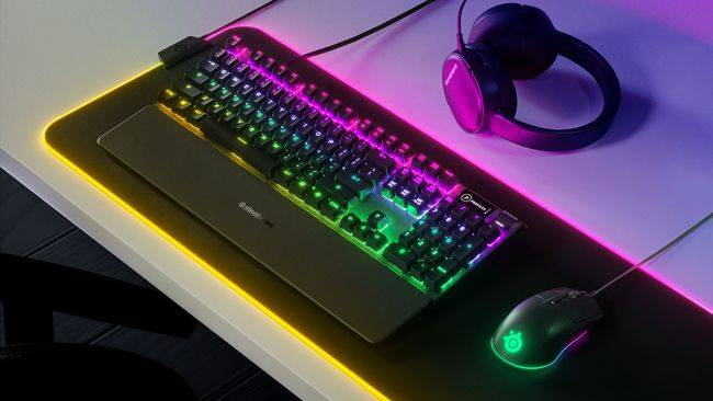 SteelSeries launches a $30 gaming mouse and a $50 water-resistant keyboard