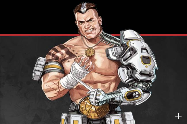 Apex Legends' new character is a big, beefy boy with a metal arm